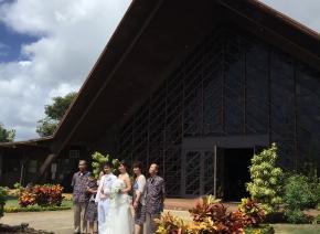 モアナルアコミュニティ教会(ハワイ教会挙式)