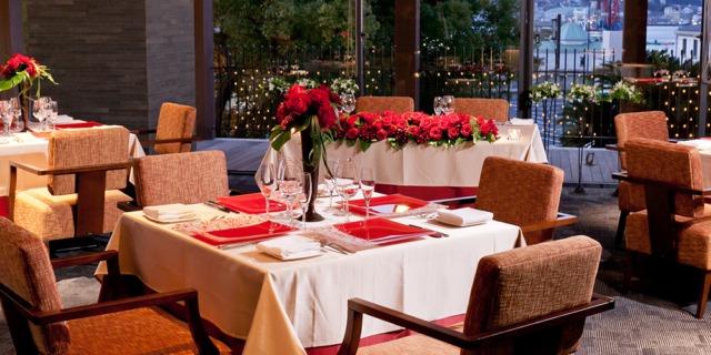 ANAクラウンプラザホテル長崎グラバーヒル内レストラン ダイニング ラ・ベルヴュー